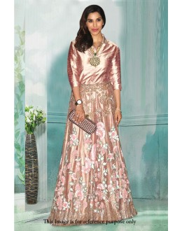 Bollywood Inspired - Fancy Light Pink Gown - 71203