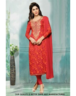 Office Wear Multi-Colour Cotton Salwar Suit - 71216