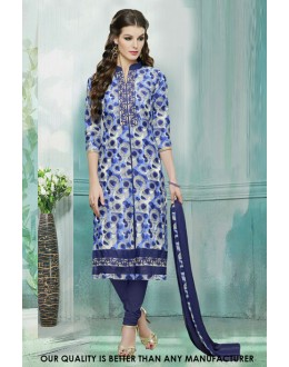 Ethnic Wear Multi-Colour Cotton Salwar Suit - 71228