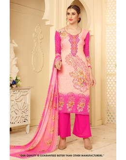 Party Wear Multi-Colour Rayon-Modal Salwar Suit - 71456
