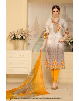 Wedding Wear Multi-Colour Rayon-Modal Salwar Suit - 71461