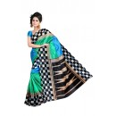 Party Wear Bhagalpuri Multicolor Saree - 80175