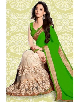 Bollywood Inspired : Tamanna Bhatia In Green Saree - 803037B
