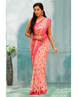 Bollywood Inspired - Ethnic Wear Multi-Colour Saree  - 80737