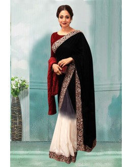 Bollywood Inspired - Sridevi In Half & Half Saree Saree  - 80756