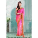 Bollywood Inspired - Party Wear Light Pink Saree  - 80808