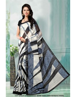 Casual Wear Multi-Colour Bhagalpuri Saree  - 81468