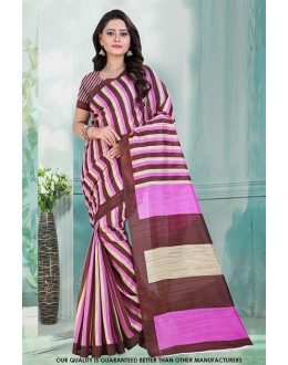 Ethnic Wear Multi-Colour Bhagalpuri Saree  - 81478