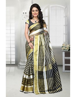 Cotton Multi-Colour Printed Saree  - 81528D