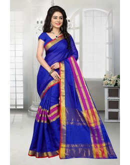 Casual Wear Blue Dora Kota Saree  - 81530C