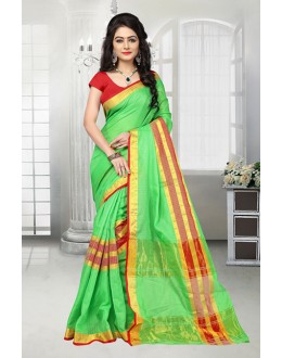 Festival Wear Green Dora Kota Saree  - 81530D