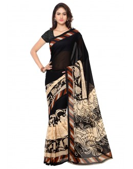 Party Wear Multi Colour Ranyal Printed Saree  - 81777