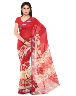 Traditonal Wear Multi Colour Ranyal Printed Saree  - 81780