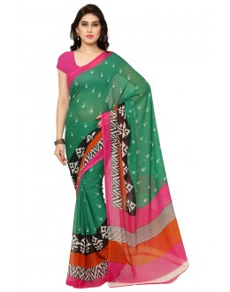 Traditional Wear Multi Colour Ranyal Printed Saree  - 81782