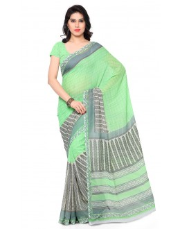 Wedding Wear Multi Colour Ranyal Printed Saree  - 81846