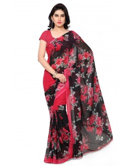 Festival Wear Multi Colour Ranyal Printed Saree  - 81849