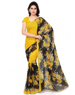 Traditional Wear Multi Colour Ranyal Printed Saree  - 81850