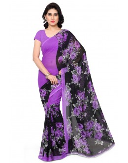 Wedding Wear Multi Colour Ranyal Printed Saree  - 81852