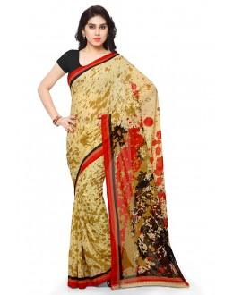 Traditional Wear Multi Colour Ranyal Printed Saree  - 81894