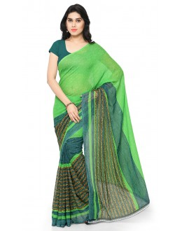 Ethnic Wear Multi Colour Ranyal Printed Saree  - 81900
