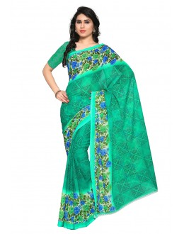 Festival Wear Multi Colour Ranyal Printed Saree  - 81931