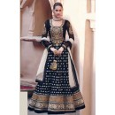 Designer Black Georgette Heavy Embroidered Anarkali Suit  - EBSFSK223002A ( EBSFSK22 )