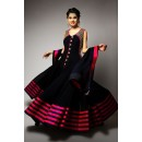 Eid Special Black Floor Length Anarkali Suit  - EBSFSK223045 ( EBSFSK22 )