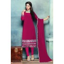 Party Wear Pink Georgette Beautiful Salwar Suit - EBSFSK223007D ( EBSFSK22 )