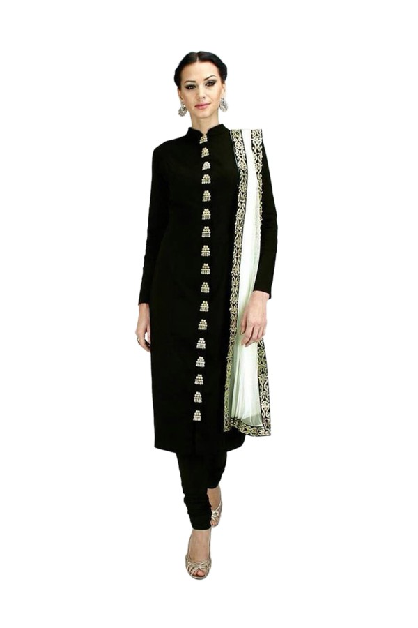 Party Wear Georgette Black Salwar Kameez - EBSFSK202026D