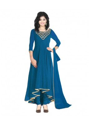Eid Special  Sea Green Georgette  Salwar suit  - 70498
