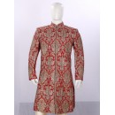 Wedding Wear Maroon Sherwani - SA3620 - ECS06