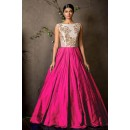 Party Wear Pink Anarkali Gown - FA374-18