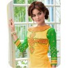 Party Wear Yellow & Green Salwar Suit - FA379-1404