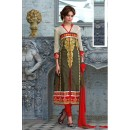 Party Wear Multicolour Salwar Suit - FA379-1409