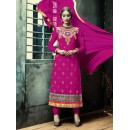 Party Wear Pink Georgette Salwar Suit - FA380-202