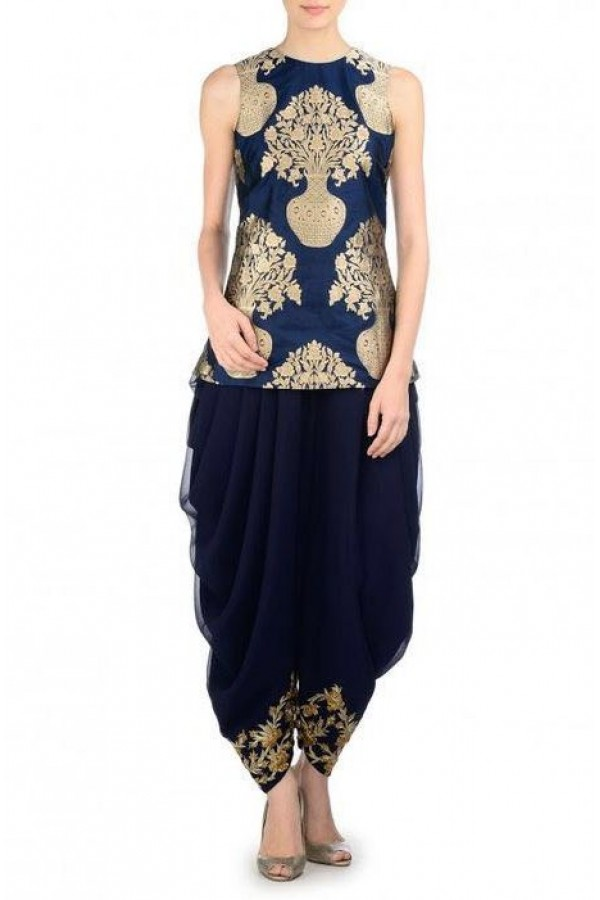 Bollywood Replica - Party Wear Blue Patiyala Suit  - FA397-02