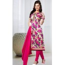 Office Wear Pink Bhagalpuri Silk Salwar Suit  - FA397-03