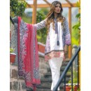 Ethnic Wear White Pure Lawn Salwar Suit  - FA398-2001