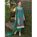 Ethnic Wear Green Georgette Salwar Suit  - FA399-1002