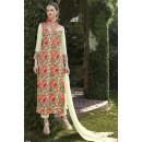 Office Wear Cream Georgette Salwar Suit  - FA399-1004