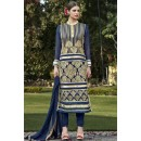 Ethnic Wear Blue Georgette Salwar Suit  - FA399-1005