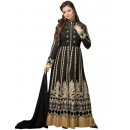 Ayesha Takiya In Black Georgette Anarkali Suit  - FA420-20277