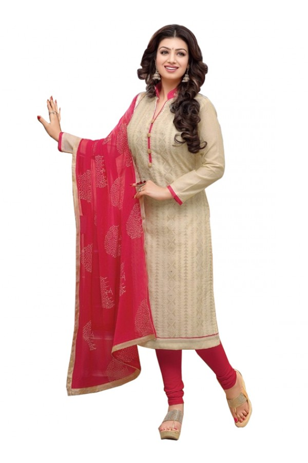 Party Wear Off White Salwar Suit - FD170-186