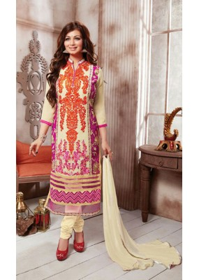 Party Wear pink & Cream Salwar Suit - FD169-30