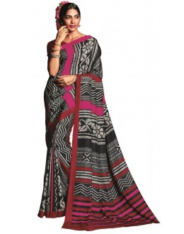 Casual Wear Multicolour Art Silk Saree  - RKVIKI9341