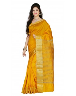 Casual Wear Gold Tussar Saree  - RKMF1439