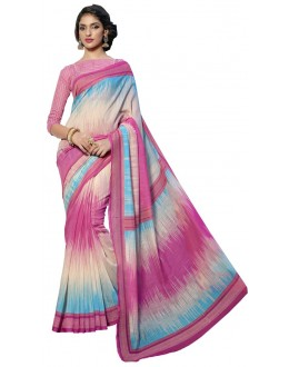 Casual Wear Multicolour Cotton Silk Saree  - RKVI4006