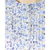 Designer Blue Colour Printed Western Wear Shirt - SHT8002 - Blu (KHG-Top101)