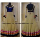 Bollywood Replica - Traditional Beige Anarkali Suit   - 1104