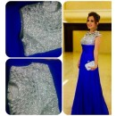 Bollywood Replica - Traditional Blue Gown  - 1109